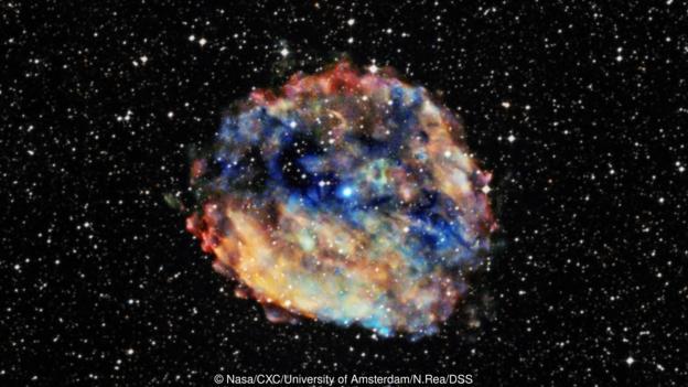 有些金属元素是在中子星剧烈相撞时形成的。