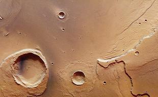 欧空局图片揭火星洪水遗迹:绵延3000公里