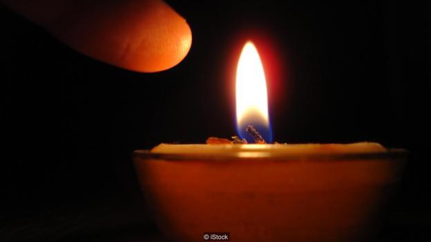把手指放在烛火上,便可激活TRPV1通道。