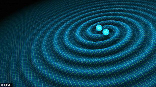 2016年,科学家发现了两个正在黑洞融合时发出的引力波,这两个黑洞的质量都比太阳大30倍左右。
