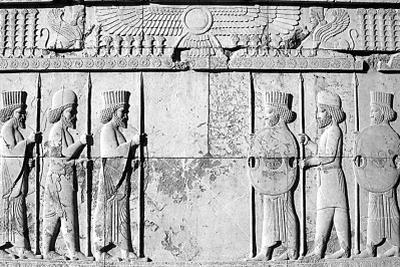 """考古新发现:""""伊斯兰国""""地道现古亚述时期浮雕"""