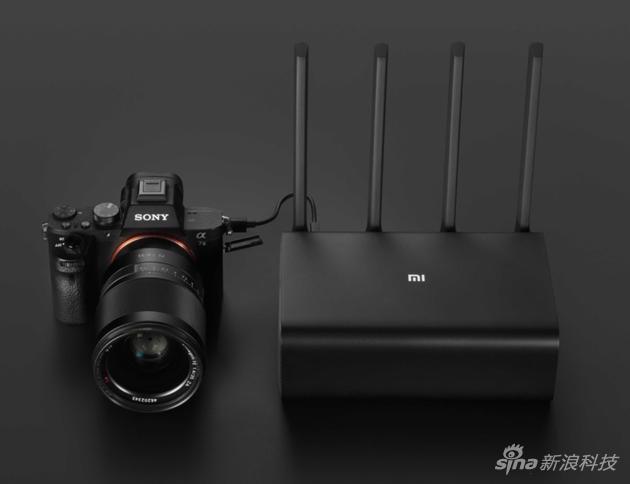 小米官方效果圖 演示相機連接路由器備份