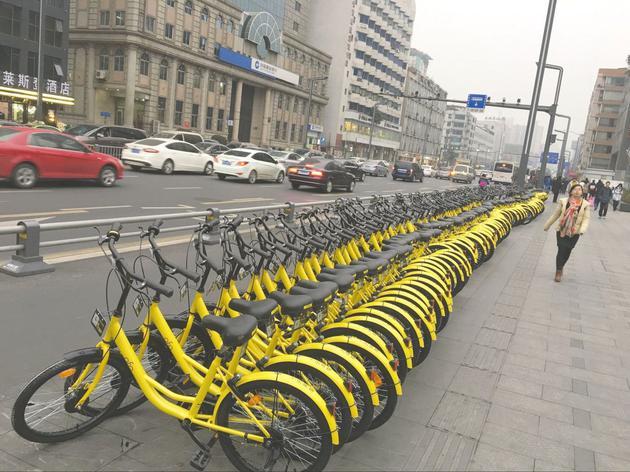 风口浪尖上的共享单车