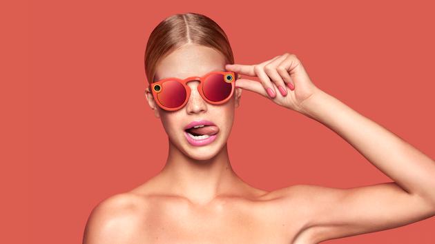 Snapchat推出的Spectacles智能眼鏡