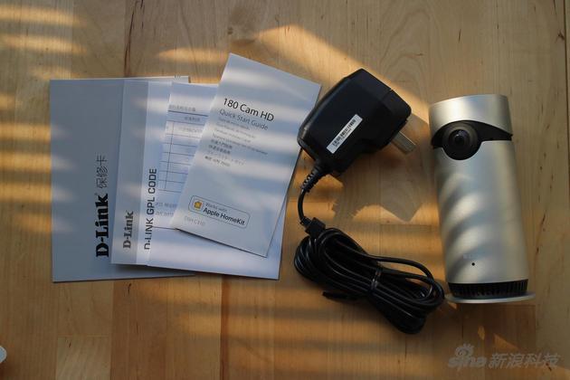 D-Link Omna 180包装内的所有物品