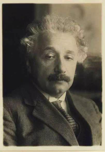图6。 1929年的爱因斯坦