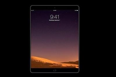 10.5寸苹果iPad或主打设计:与9.7英寸型号一样大