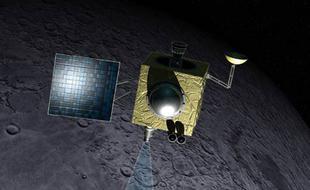 NASA用雷达找回失联的印度月球探测器