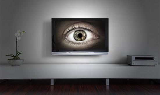 你在看电视还是电视在看你? 图源:太平洋电脑网
