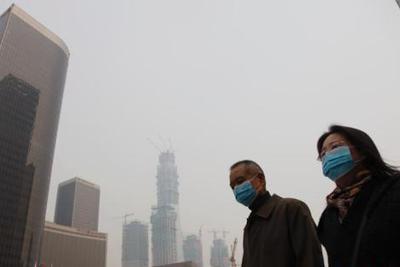 雾霾来京 全城空气质量跌至重度污染水平