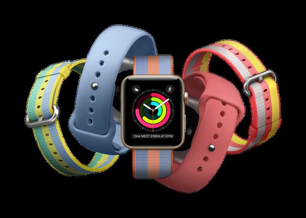 Apple Watch新款表带组合图