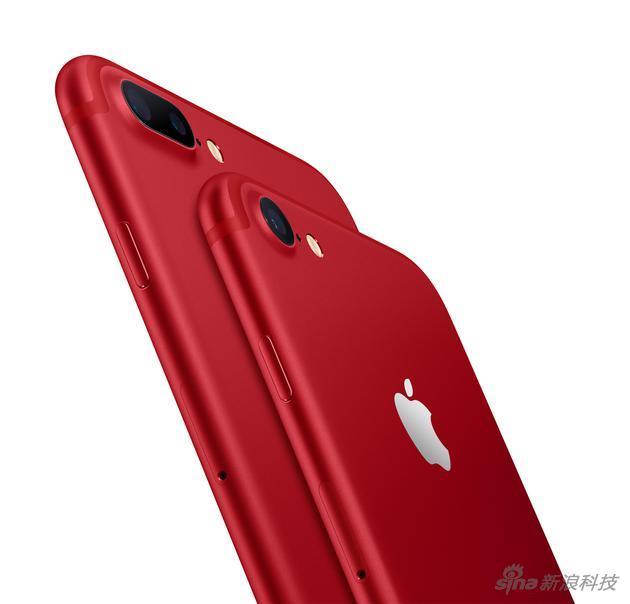 红色特别版iPhone