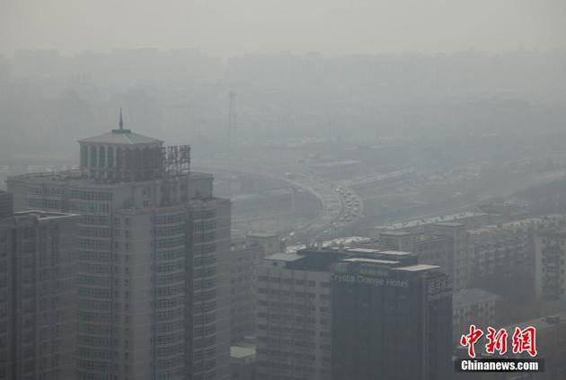 全球变暖导致北京冬季强霾事件频繁