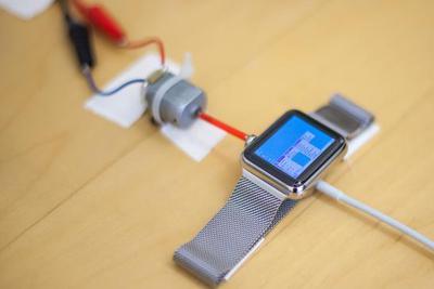 技术宅真厉害 在Apple Watch可以玩这款游戏了