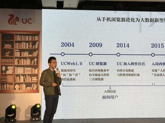 阿里巴巴文化娱乐集团UC总经理陈超