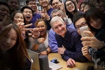 苹果在华频建研发中心 库克下了怎样一盘棋?
