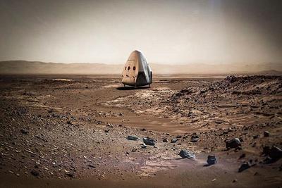 SpaceX的火星计划逐渐成型:红龙太空船2020年登陆火星