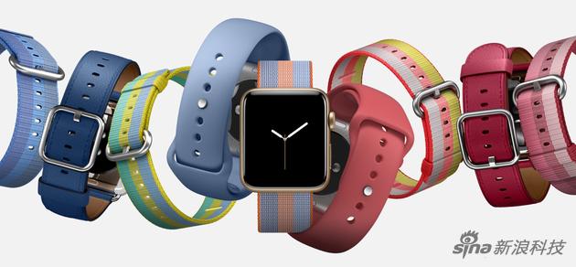 蘋果2017年春季的新錶帶