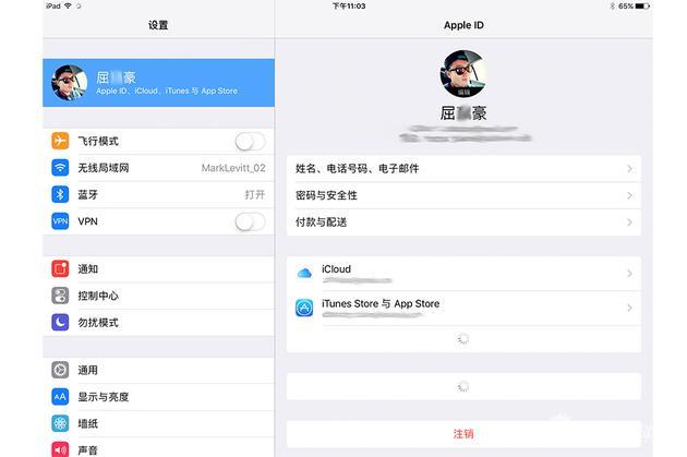 iOS10.3界面
