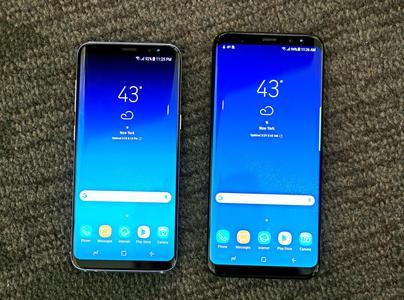 三星S8系列手机发布 :除了无边框 AI也成了宣传点