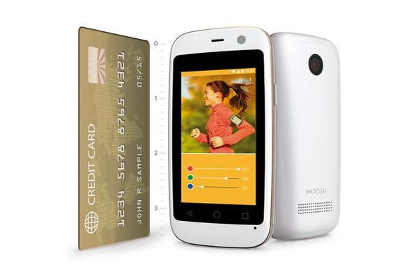 一款比信用卡还小的Android手机 你见过吗?