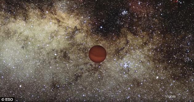 宇宙中的一颗流浪星球