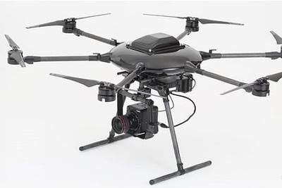 虽然是工业用机 不过佳能一出手就是全画幅无人机