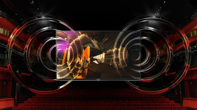 (索尼在 CES 上已經展示了 OLED 屏幕發聲電視,技術名為 Acoustic Surface,平面聲場)
