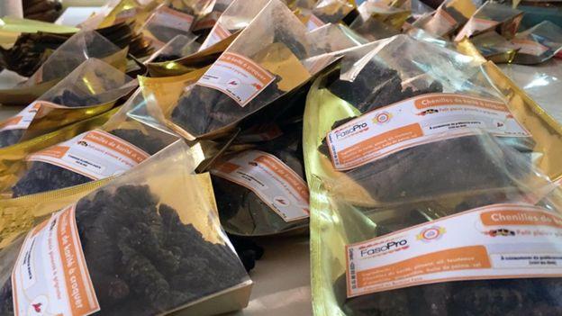 经过烹煮加工并包装后,非洲酪脂树毛虫制品保质期可长达18个月。