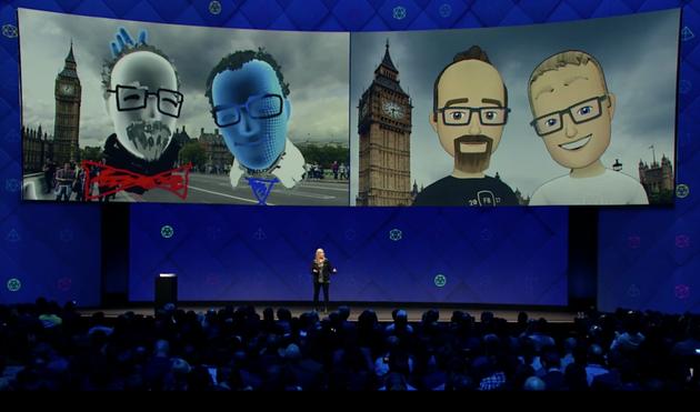Facebook VR社交平台