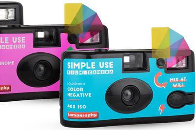 Lomography发布新款Simple Use一次性胶片相机