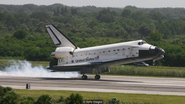 NASA的航天飞机在2011年退役,至今还没有新的可重复使用的太空飞机