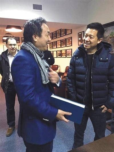 鑫根资本创始合伙人曾强和乐视CEO贾跃亭