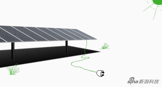 苹果公司的太阳能发电厂