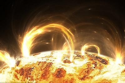 太阳风暴可能消除大气层部分电子:仅在特定区域