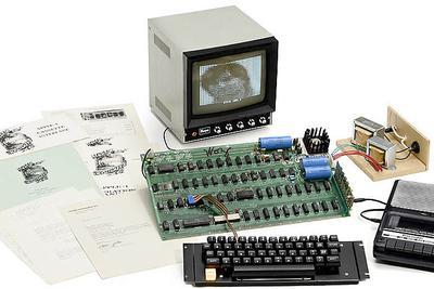 又一台乔布斯生前亲手组装的苹果古董电脑将拍卖