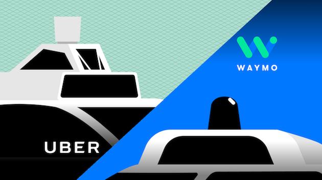 Uber和Waymo大战:法庭判决Uber须提供收购Otto信息