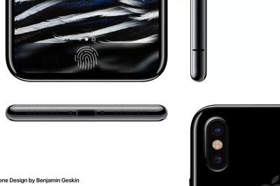 疑似iPhone 8草图显示其配备双镜头摄像头