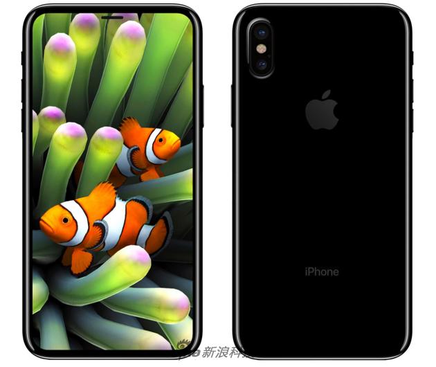 网友曝出的iPhone 8渲染图