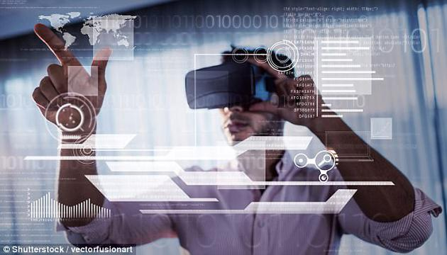 """战斗机飞行员使用平视显示屏,只需直视前方便可在挡风玻璃上看见飞行的关键数据。这也是""""增强现实""""的一种,因为它将信息与真实世界场景融为一体。这一技术一度非常专业、也非常昂贵。"""