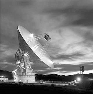位于美国加利福尼亚的一处DSN天线。