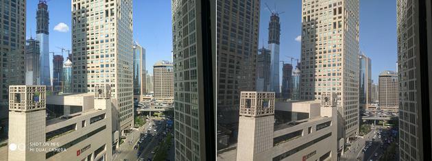 (左:小米 6,右:Google Pixel)