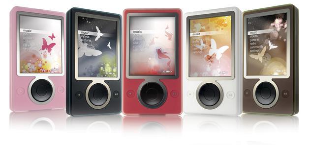 (图自:Zune – Chicago Gadgets)