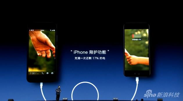 坚果Pro为iPhone充电