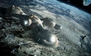 月尘和阳光造砖块:未来或可建月球基地