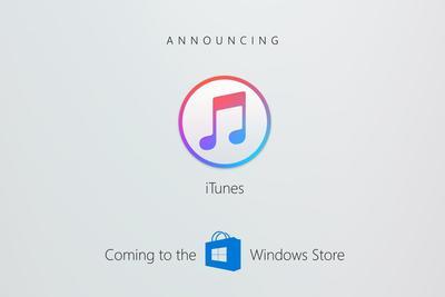 苹果iTunes和Apple Music今年登陆微软Windows Store