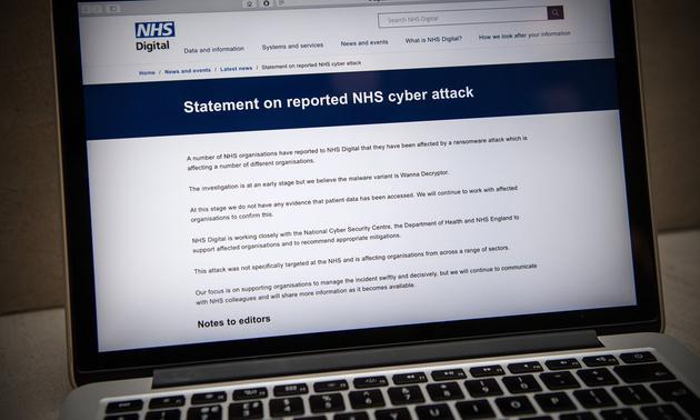 英国研究人员找到隐藏开关 阻止勒索软件进一步传播的照片