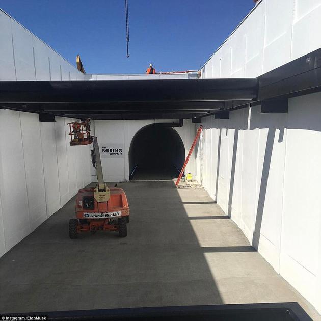 禹会区02782660888马斯克发铣头旋转视频 宣布地下隧道工程开工