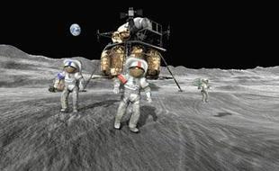 NASA拟定月球基地任务准备登陆火星