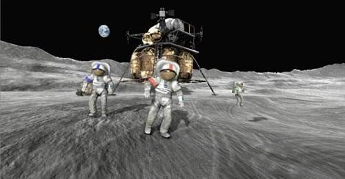 目前美国宇航局拟定一项月球基地任务,为未来登陆火星做好准备。
